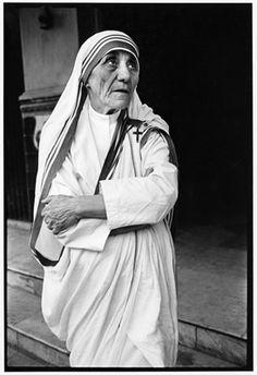 Mother Teresa.  Mary Ellen Mark Photography