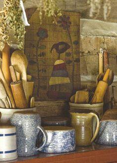 crocks... American Pottery