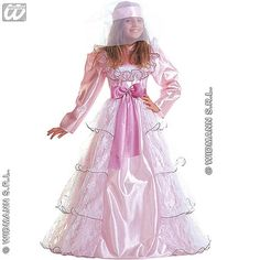 Disfraz de Dama de Gala Niña  #disfraces #infantil #carnaval
