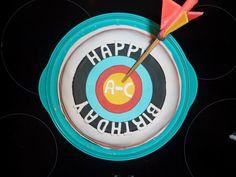 happy birthdays, evan birthday, happi birthday, archeri cake, birthday cakes