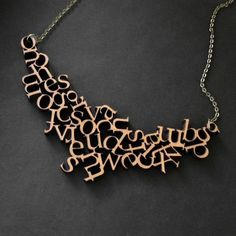 a to z necklace