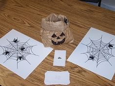 Spider Math Games! Great for Halloween and our study of Charlotte's Web!