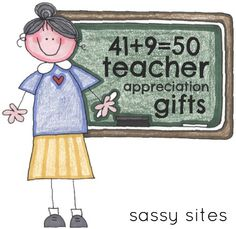 "Teacher gifts galore...or other ""Thank you"" gifts, too!"
