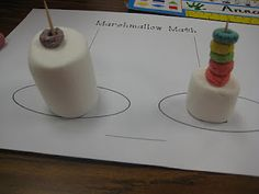 Tens and Ones...First Grade Wow: Marshmallow Math