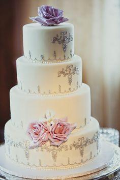 Sophisticated Lavender Wedding ~ IQphoto Studio | bellethemagazine.com