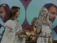"""Thanks for all your fine pines  Hasta mañana album """"ABBA"""" released in 1975."""