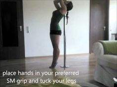 Strength Exercises on the pole