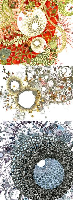 JILL GALLENSTEIN     :::   GORGEOUS PEN AND INK DRAWINGS