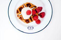 donut waffle recipe via @Stephanie Close le | i am a food blog