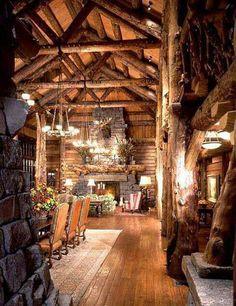 Log home. Gorgeous