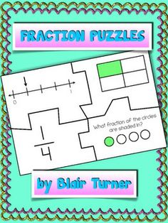 Fraction Puzzles: Whole, Set, and Number Line Models $