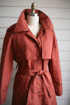 vintage women's trench coat