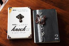 One of a Kind: Scripture Journals Tutorial: Part 1