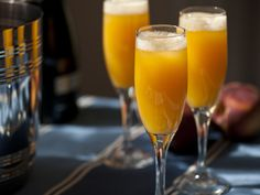 Peach Ginger Bellini Recipe : Tyler Florence : Food Network - FoodNetwork.com