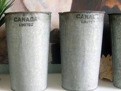 galvanized sap buckets