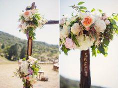 romantic floral arbor
