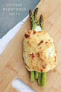 Chicken Asparagus Roll