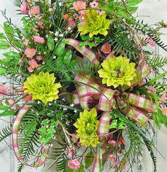 SAVE 15 Spring Wreaths XL Gorgeous Full Spring by LadybugWreaths, $189.97 http://www.LadybugWreaths.com