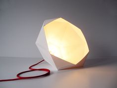 DIY paper lampshade by joop bource, via Behance