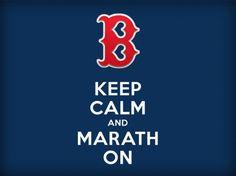 Keep Calm and Marathon #keep_calm #bostonstrong