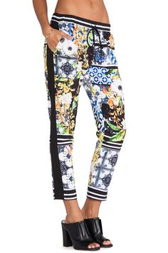 Clover Canyon Greek Tiles Pant in Multi