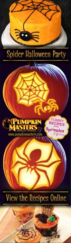 Spider Halloween Party Ideas!