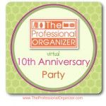 Webinar Organize for Health - give away item for day 6 of my 10 year anniversary party!!