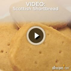 Scottish Shortbread | So irresistible yet shockingly simple to make. http://allrecipes.com/video/1055/scottish-shortbread/detail.aspx?lnkid=7172