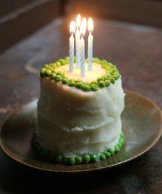 Dog Birthday Cake Recipe via @17apart #dogs #dogrecipe