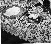 Medley Tablecloth Free Crochet Pattern