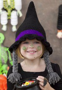 crochet hat patterns, witch hats, craft, halloween costumes, crochet hats, crochet free patterns, crochet instructions, crochet patterns, 4 kids