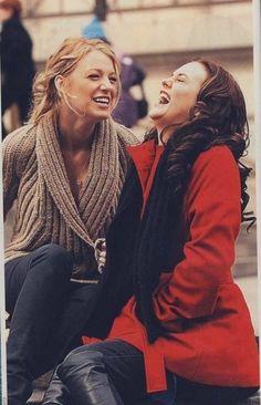 Gossip Girl - Serena and Blair - Besties