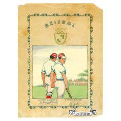 Beisball, baseball, gay art, vintage romance, sports