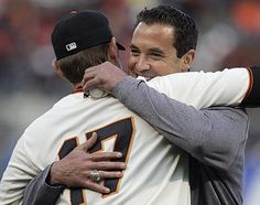 This was so stinkin' cute.  Bromance! College roommates and now major league players. Aubrey and Pat!