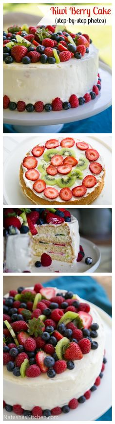 Beautiful and absolutely delicious! This cake is a winner; top to bottom (and inside too!) @NatashasKitchen