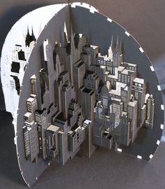 Cityscape by Ingrid Siliakus.