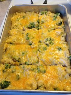 I will have to try this in the fall or winter. Chicken Broccoli and Quinoa Casserole