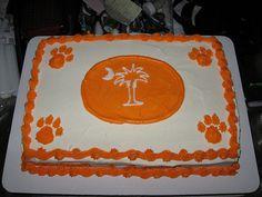 clemson tiger, clemson sc, cakes, clemson stuff, cake djsmommy07, clemson fan, clemson cake, grad parti, parti idea