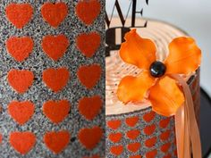 Hochzeitstorte von www.suess-und-salzig.de  herz korallenrot  caketopper von Papierhimmel