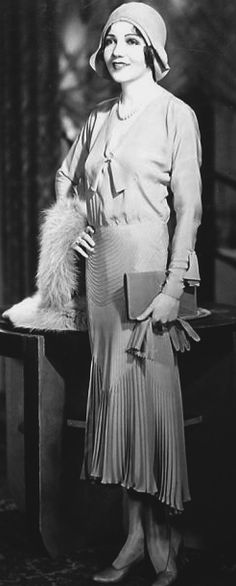 Claudette Colbert. 1920's. @Deidra Brocké Wallace