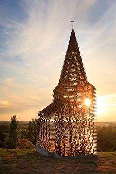 Transparent Church by Gijs Van Vaerenbergh  http://www.architecturelover.com/