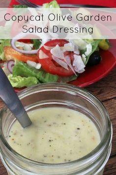 Eat copycat recipes on pinterest for Olive garden salad dressing recipe secret