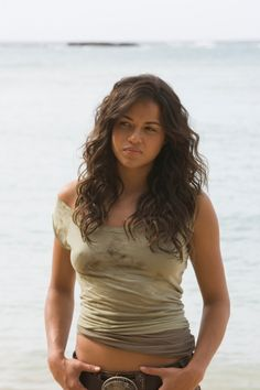 Michelle Rodriguez. Love her in everything she's done!