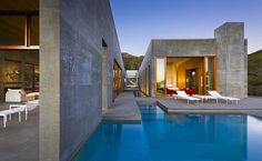 Exposed Concrete Meets The Warmth Of Natural Wood At Toro Canyon Residence