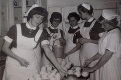 Keuken Paviljoen 1 in 1962, Parklaan #Eindhoven Diaconessenhuis #ziekenhuis