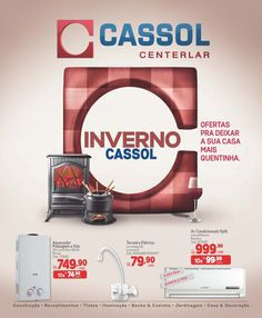 Temporada de Inverno Cassol Centerlar, ofertas para deixar a sua casa mais quentinha.  Veja mais no Blog: http://www.cassol.com.br/blog/?p=5962