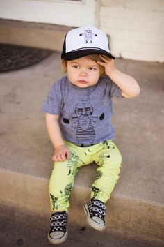 KID: Brilliant leggings with  weightlifters, ring masters and lions by Salt City Emporium