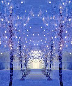 winter wonderland wedding | Winter Wonderland Ceremony | Inspirations