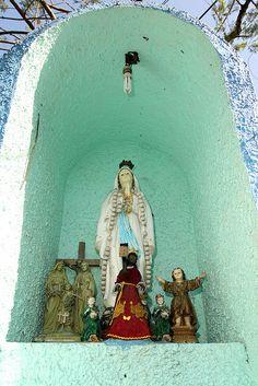 Wayside Shrine in San Andres, Manila, Philippines