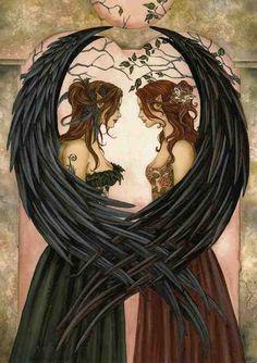 faery soul sisters angel, soul sister, fairi, artsi thing